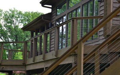 Deck Restoration and Reconfiguration With Feeney Cable Handrail Retrofit…