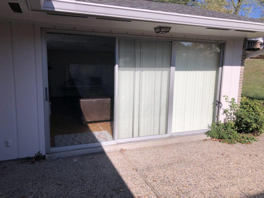 Exterior Patio Sliding Door Cincinnati Door Install