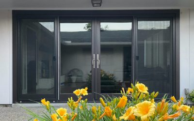 Exterior Entry Door – BEFORE & AFTER!