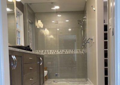 Master Bathroom Remodel With Walk-in Closet, Shower, and Sinks (Cincinnati, Ohio)
