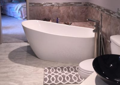 Master Bathroom Remodel With Free Standing Bath, Toilet, and Sink (Cincinnati, Ohio)