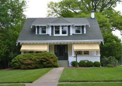 Craftsman Home – Exterior Wood Repairs And Painting (Cincinnati, Ohio)