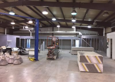 Large Industrial Space Build Out – Commercial Remodeling (Cincinnati, Ohio)