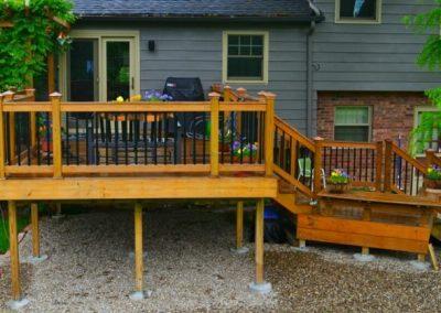 Multi-Level Deck Build with Custom Touches (Cincinnati, Ohio)
