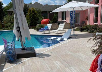 Patio And Pool Deck Tile Remodel (Cincinnati, Ohio)