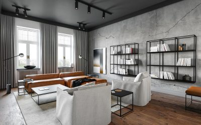 Home Design Tips – 5 Ways To Use Industrial Design To Blend Vintage and Modern Styles…